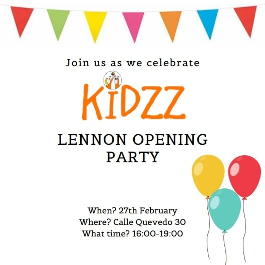 kidzz lennon opening party